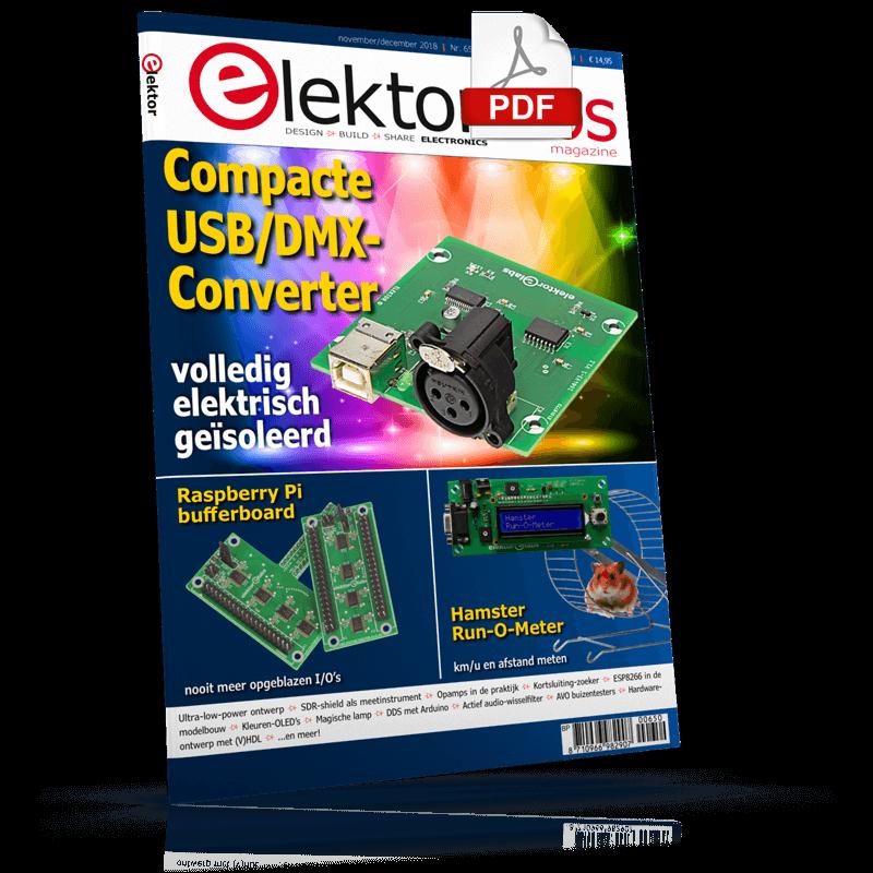 Elektor Magazine NL November/December 2018 (PDF)
