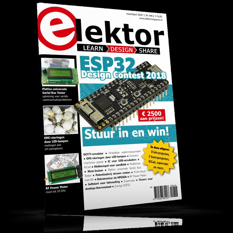 Elektor Magazine NL Maart/April 2018