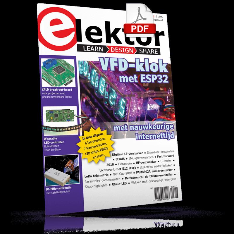 Elektor Magazine NL Mei/Juni 2018 (PDF)