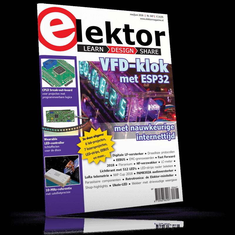 Elektor Magazine NL Mei/Juni 2018