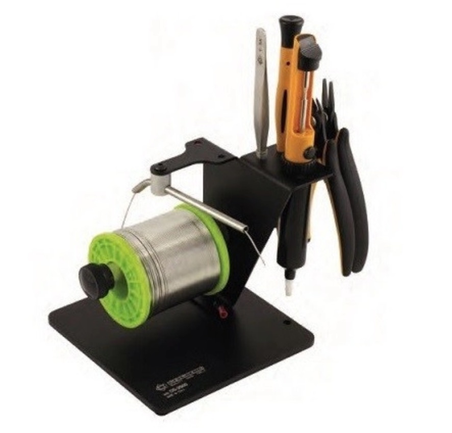 Solder dispenser with tools