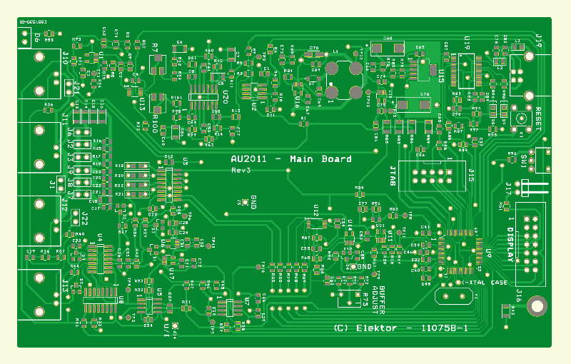 Precisie-LCR-meter (hoofdprint)