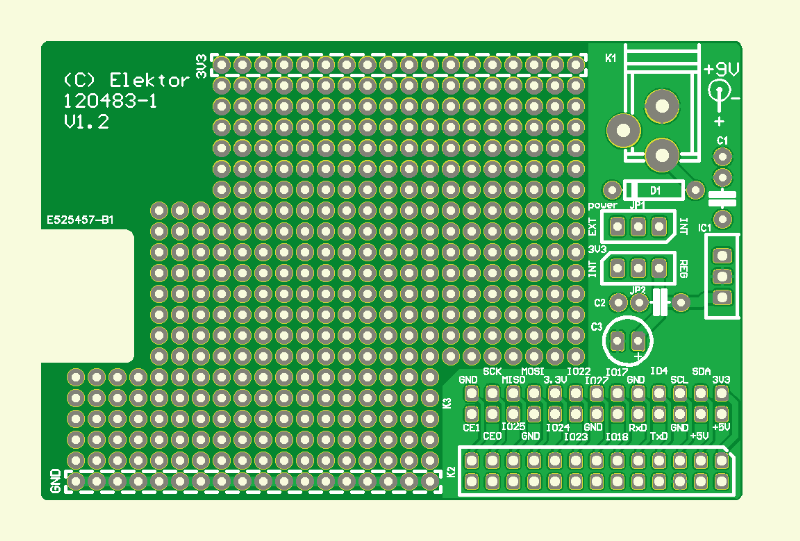 Raspberry Pi prototyping-board