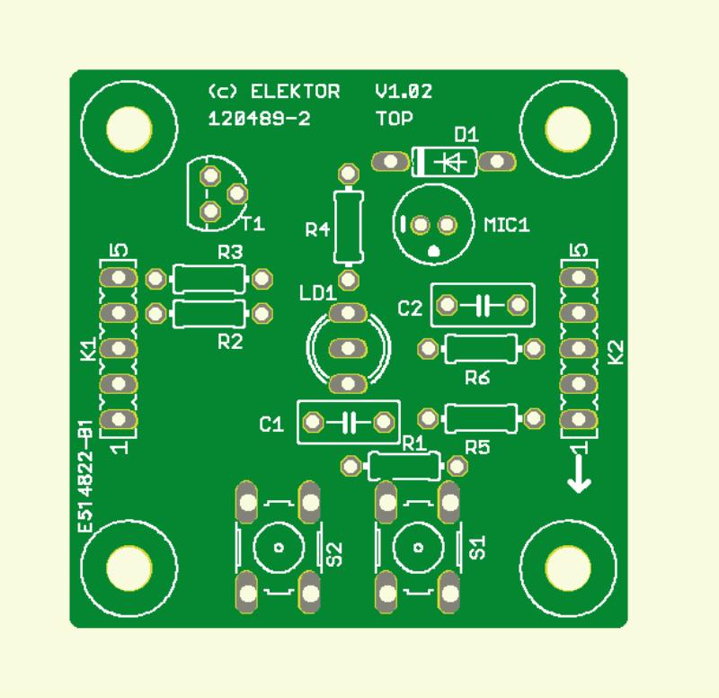 Duo-LED-kaars (LED-print)