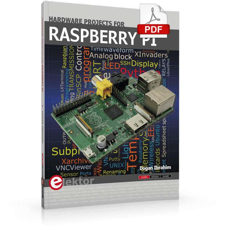 E-Book: Hardware Projects for Raspberry Pi