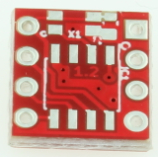 DS1302 high accuracy RTC – Bare PCB (180620-1)