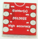 DS1302 high accuracy RTC - Bare PCB (180620-1)