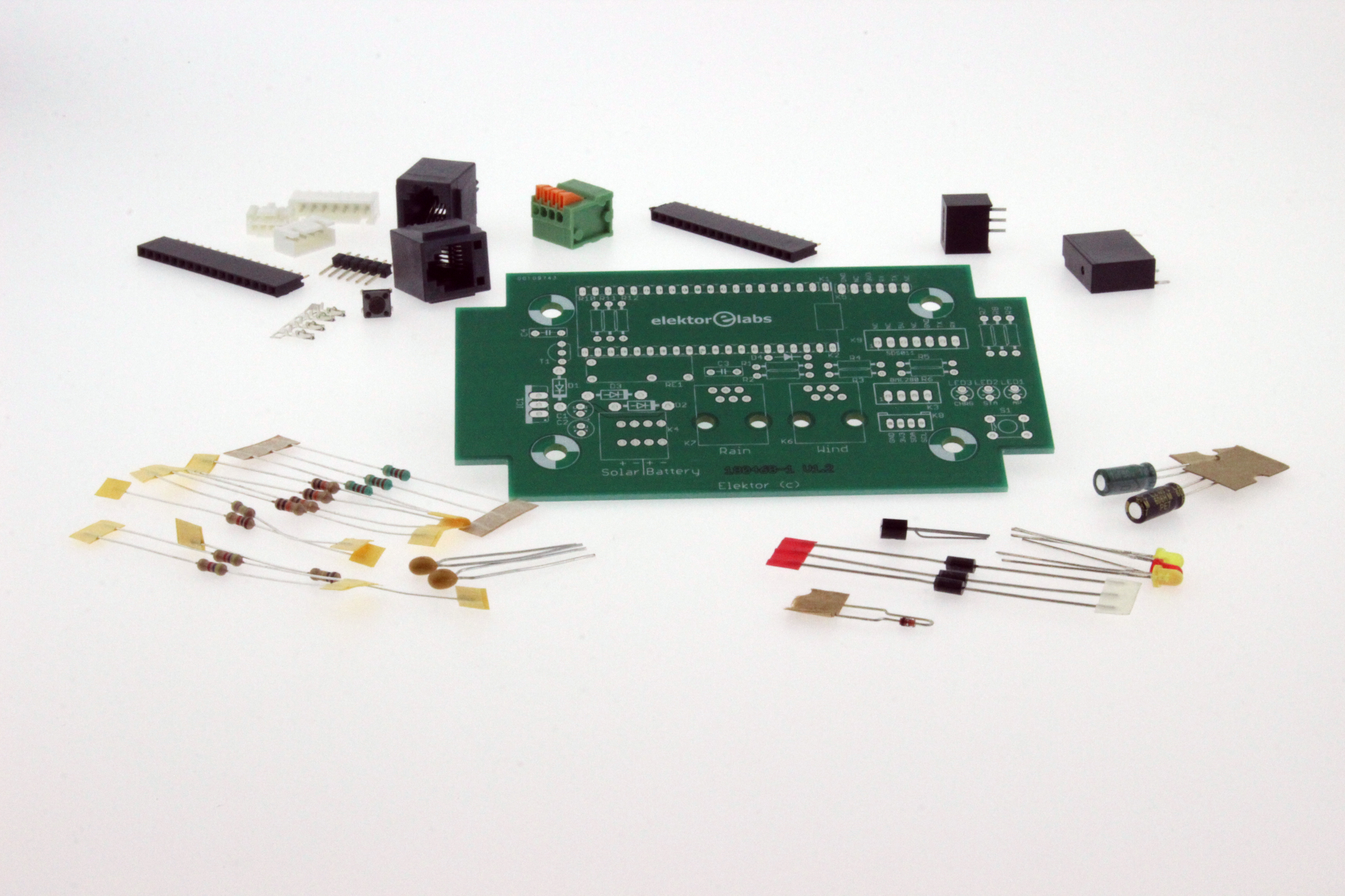 ESP32 Weather Station - Kit of Parts (180468-71)