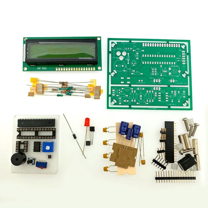 Improved Radiation Meter – Kit of Parts (110538-71)