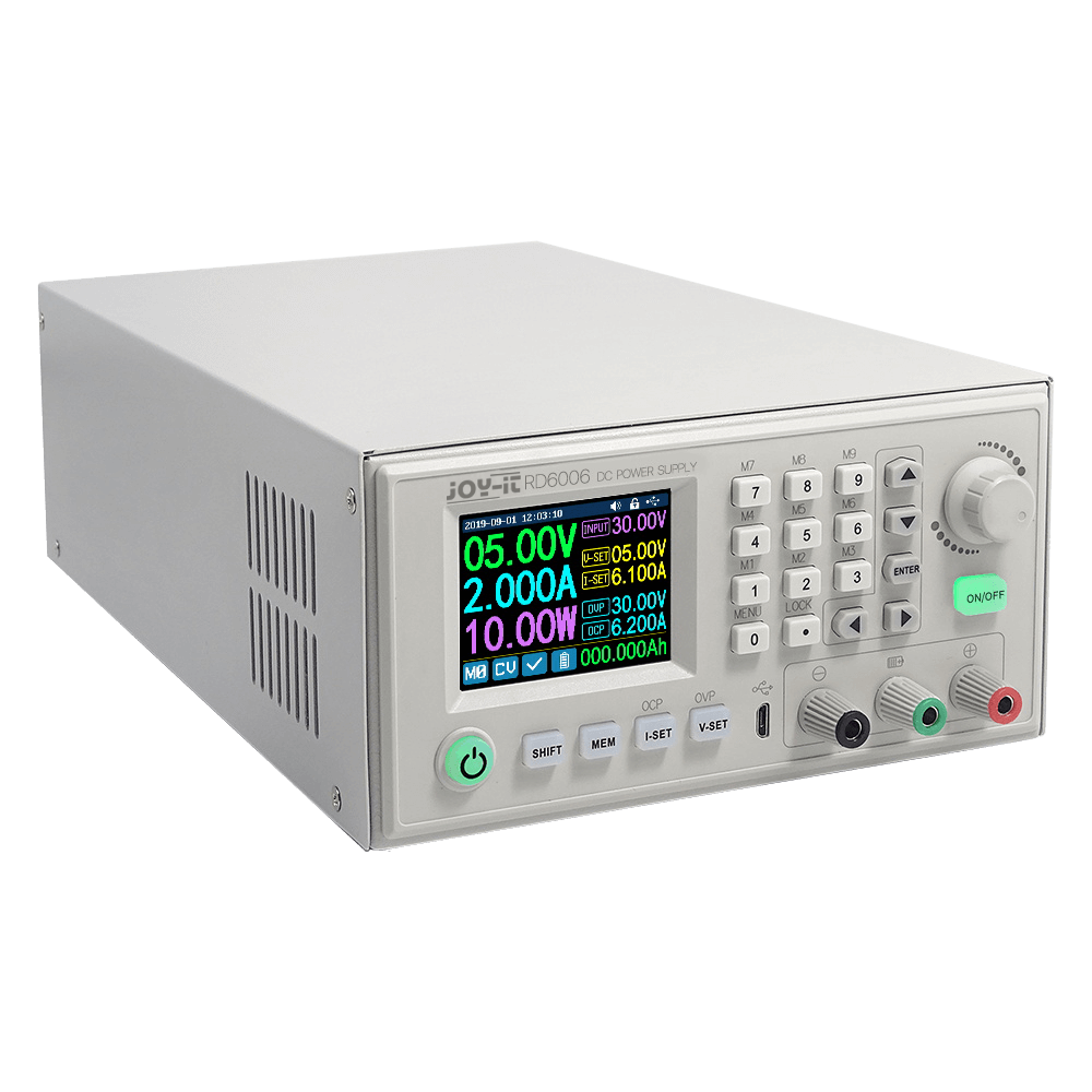 JOY-iT JT-RD6006 DC Power Supply Bundle