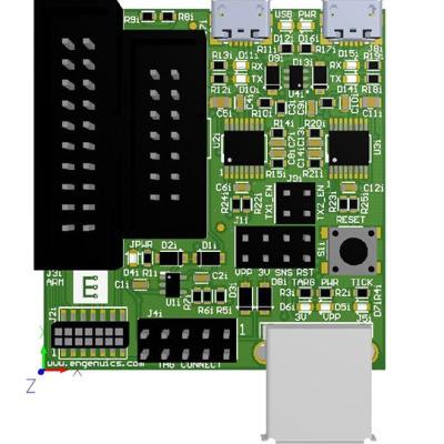 ARM/MSP 430 Programming/Debugger adapter