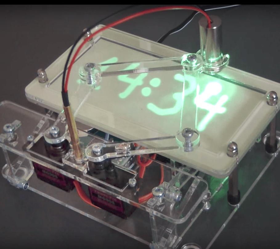 Laser Tijdschrijver (upgrade-kit voor de zandklok)