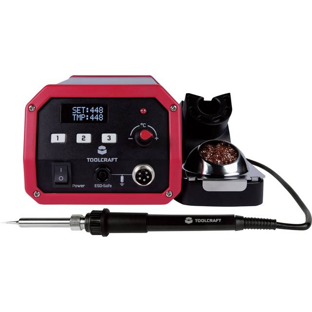 Toolcraft ST-100D Digital Soldering Station (100 W)