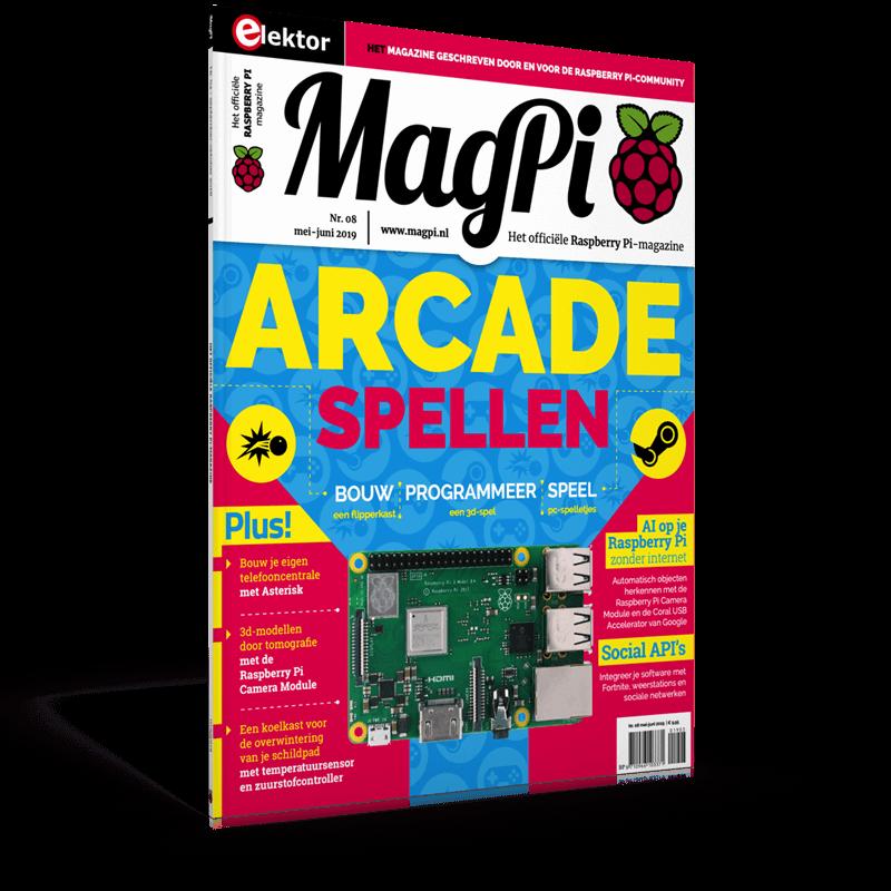 MagPi n°8 (Mei-Juni 2019) NL