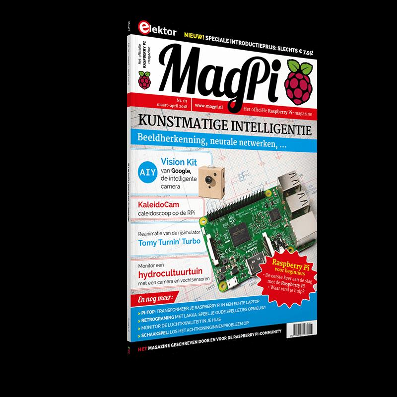 MagPi n°1 (Maart-April 2018) NL