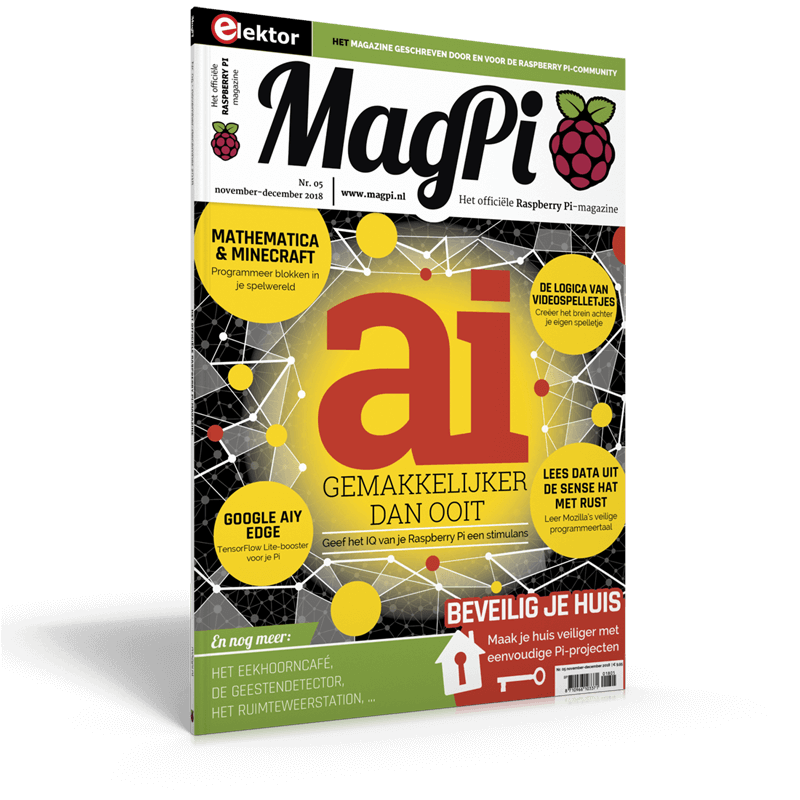 MagPi n°5 (November-December 2018) NL