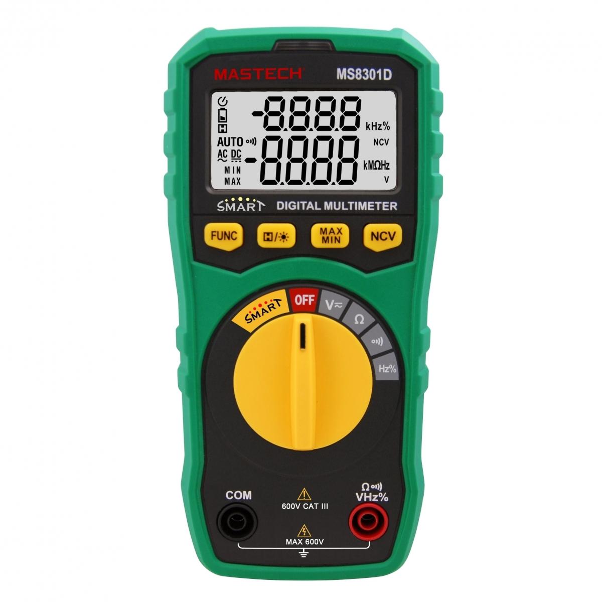 Mastech MS8301D Smart Digital Multimeter