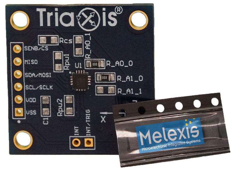 Melexis MLX90393 EVB - Evaluation Board for Software-Defined Sensor
