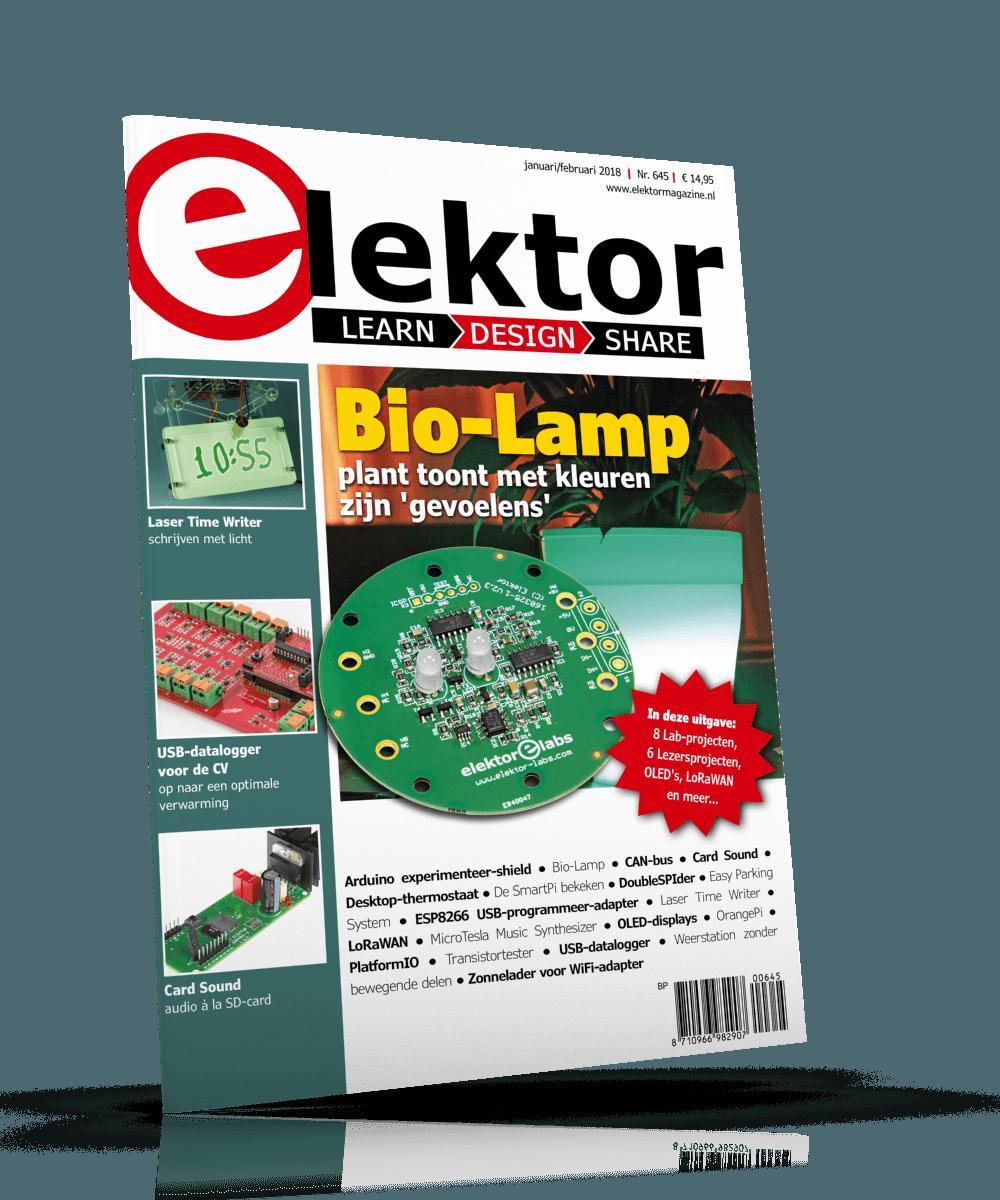 Elektor Magazine NL Januari/Februari 2018
