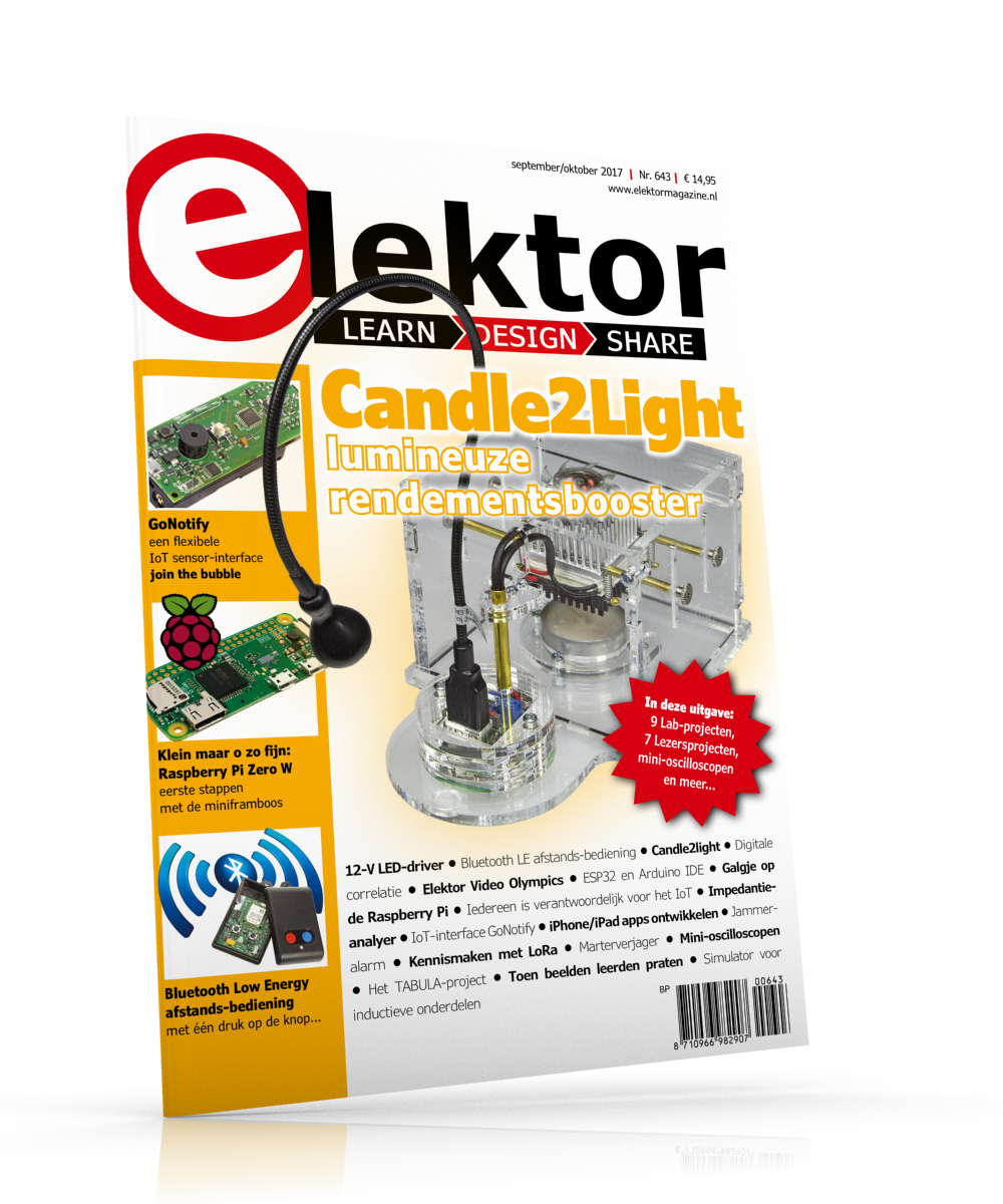 Elektor Magazine NL September/Oktober 2017