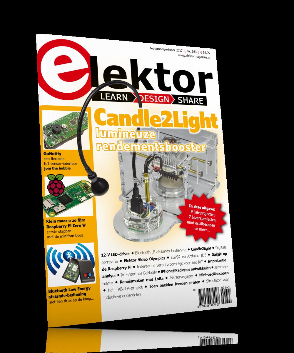 Elektor Magazine NL September/Oktober 2017 (PDF)