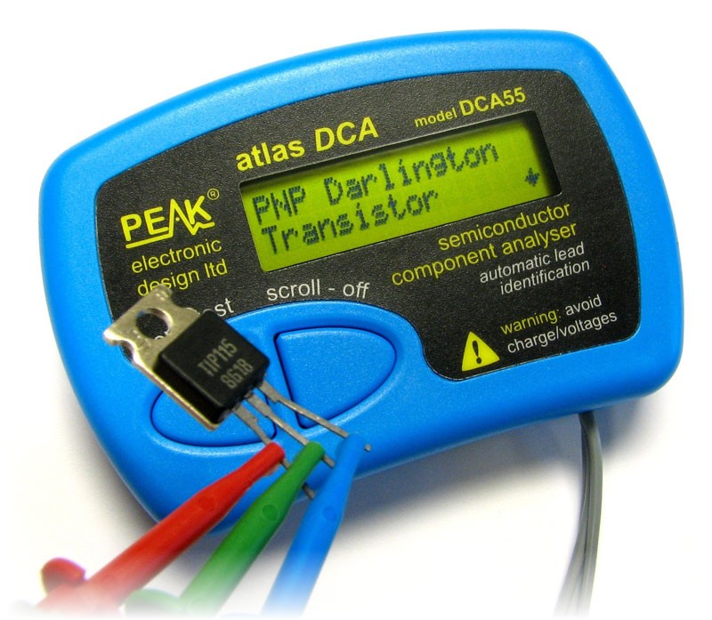 Atlas DCA55 – Semiconductor Analyser