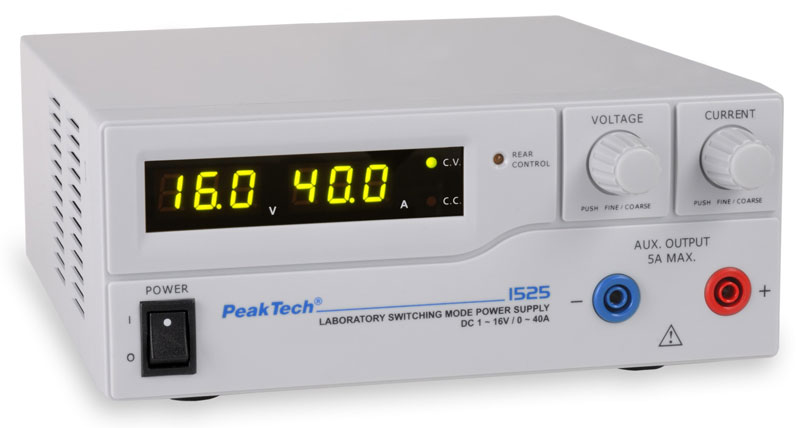 PeakTech 1525 Power Supply