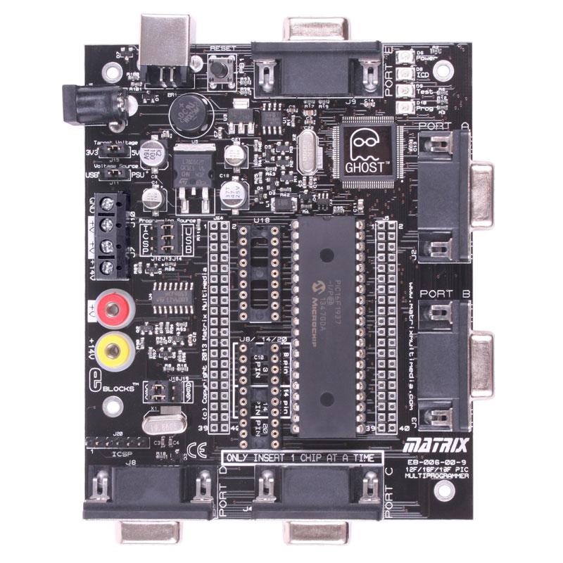 PIC Multiprogrammer (EB006)