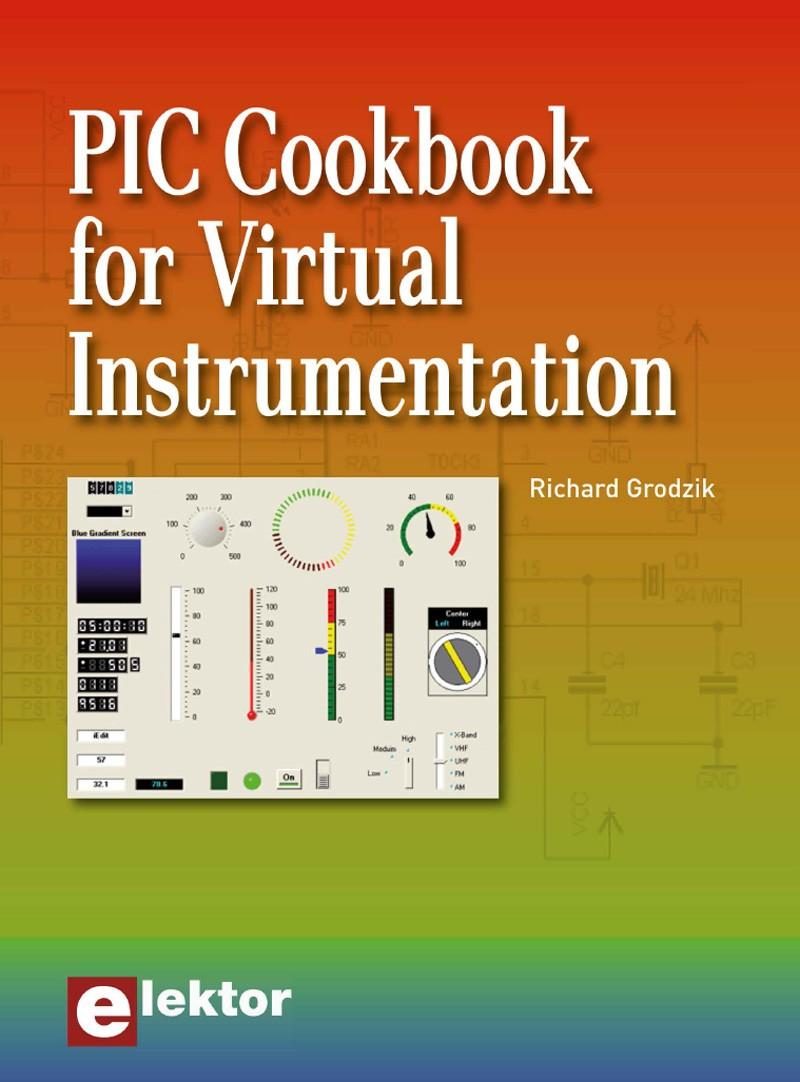 PIC Cookbook for Virtual Instrumentation eBook (EN)