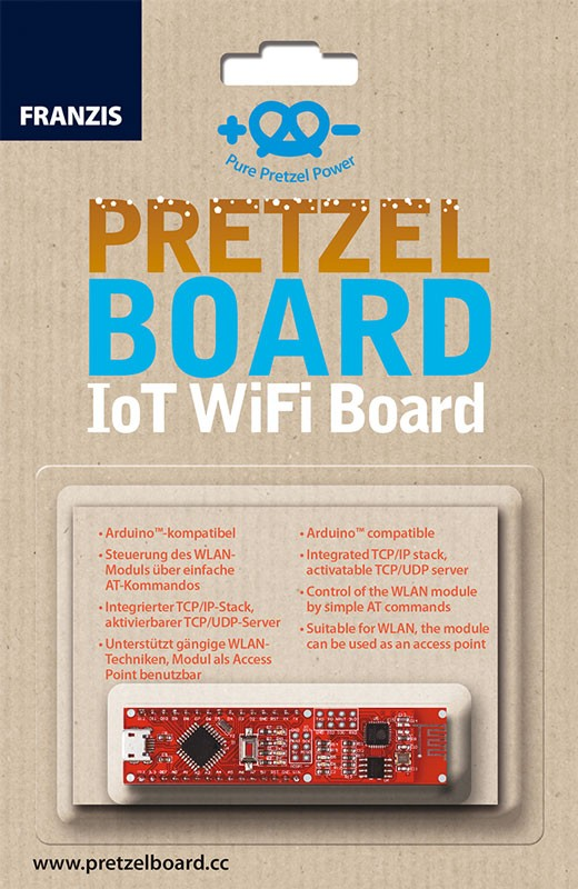 Pretzel Board (IoT WiFi Board)