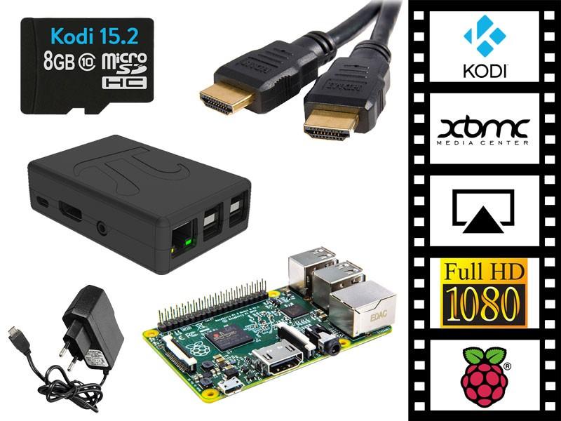 Raspberry Pi 3 Kodi/XBMC Media Speler