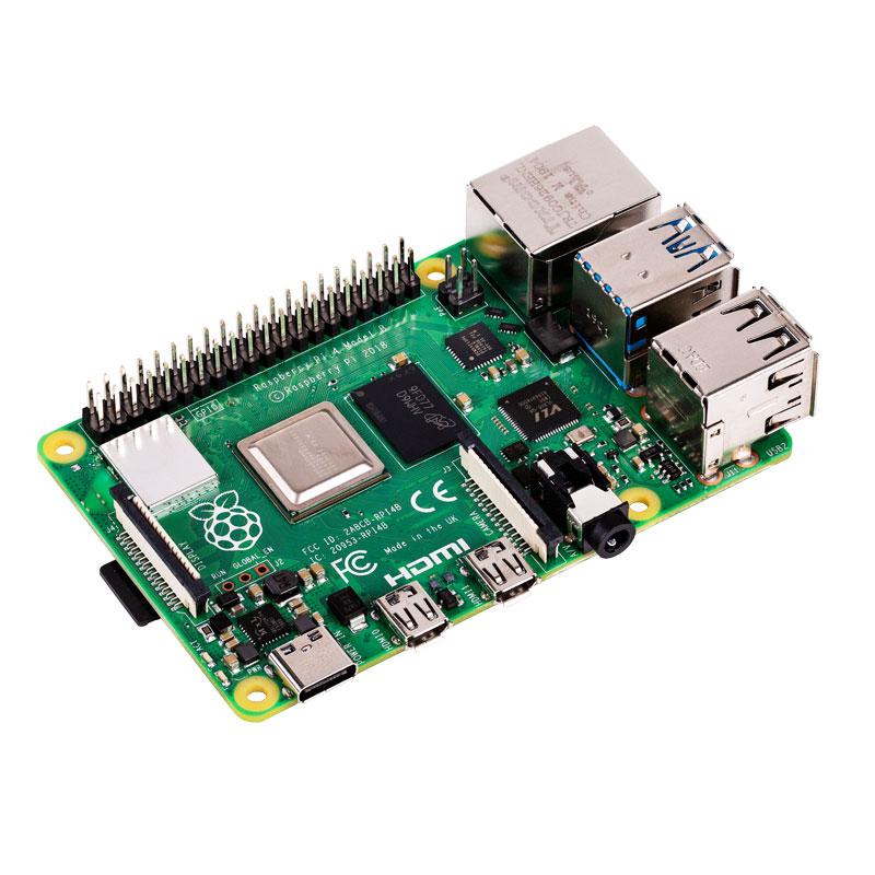 Raspberry Pi 4 B (4 GB RAM) + GRATIS RPi E-book