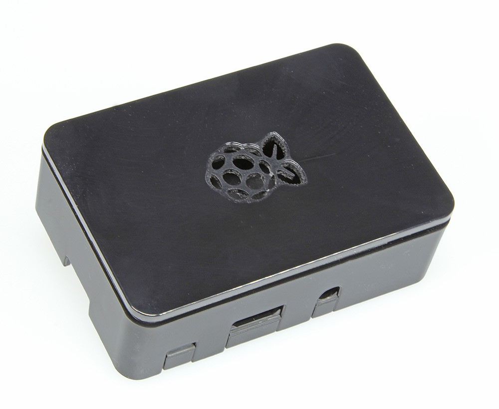 Case for Raspberry Pi 3, 2 and B+ (black)