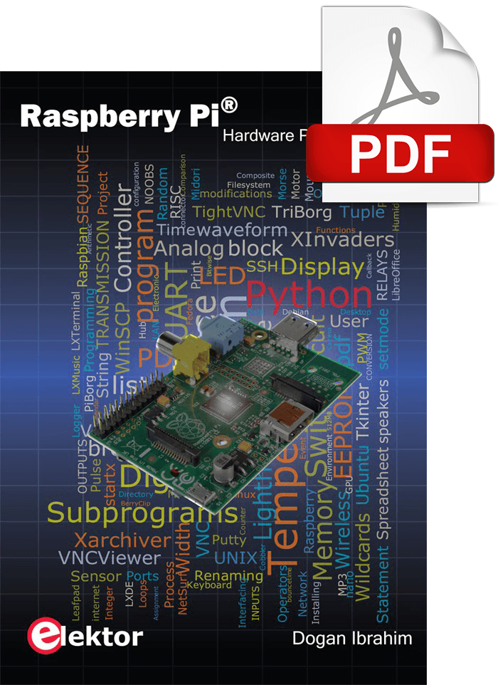 E-Book: Raspberry Pi Hardware Projects
