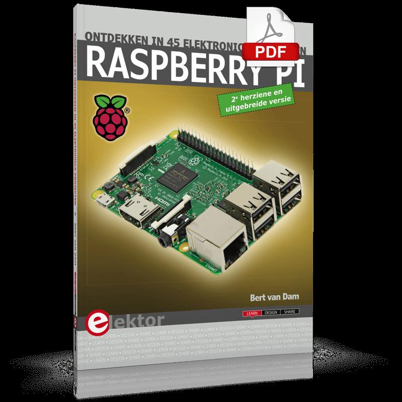 Raspberry Pi ontdekken in 45 electronica projecten (2e versie) | E-book
