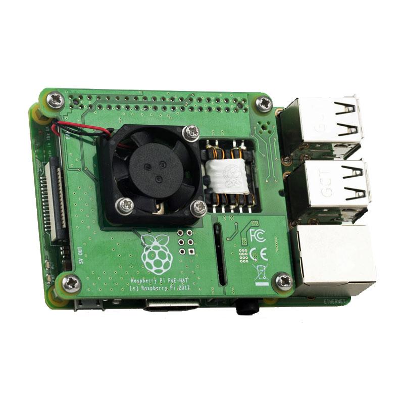 PoE HAT for Raspberry Pi 3B+