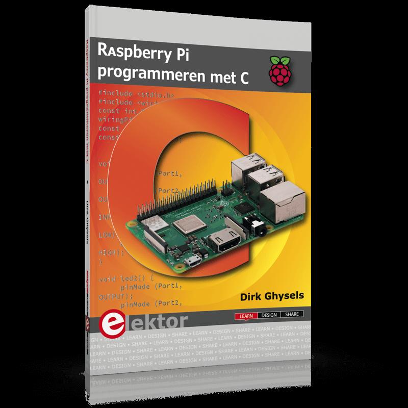 Raspberry Pi programmeren met C (gratis verzending)