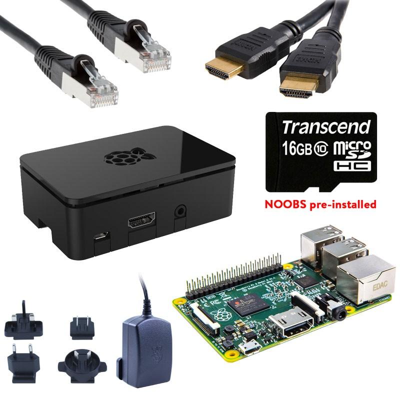 Raspberry Pi 3 Starter Kit (Deluxe) + GRATIS RPi Compilatie