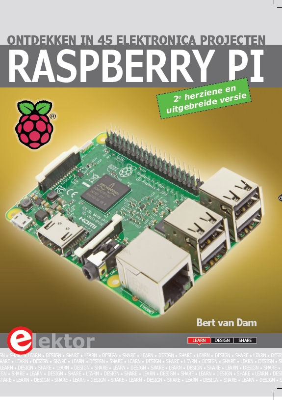 Raspberry Pi ontdekken in 45 elektronica projecten