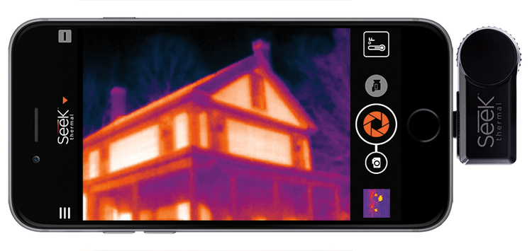 Seek Compact Thermal Camera (206x156) for iPhone