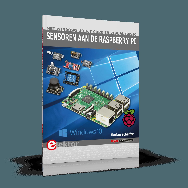 Sensoren aan de Raspberry Pi (E-Book)