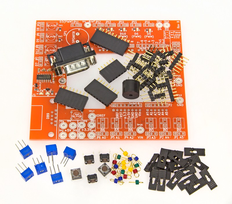 Dr.Duino Arduino Uno R3 Debugging Shield Kit Break out board
