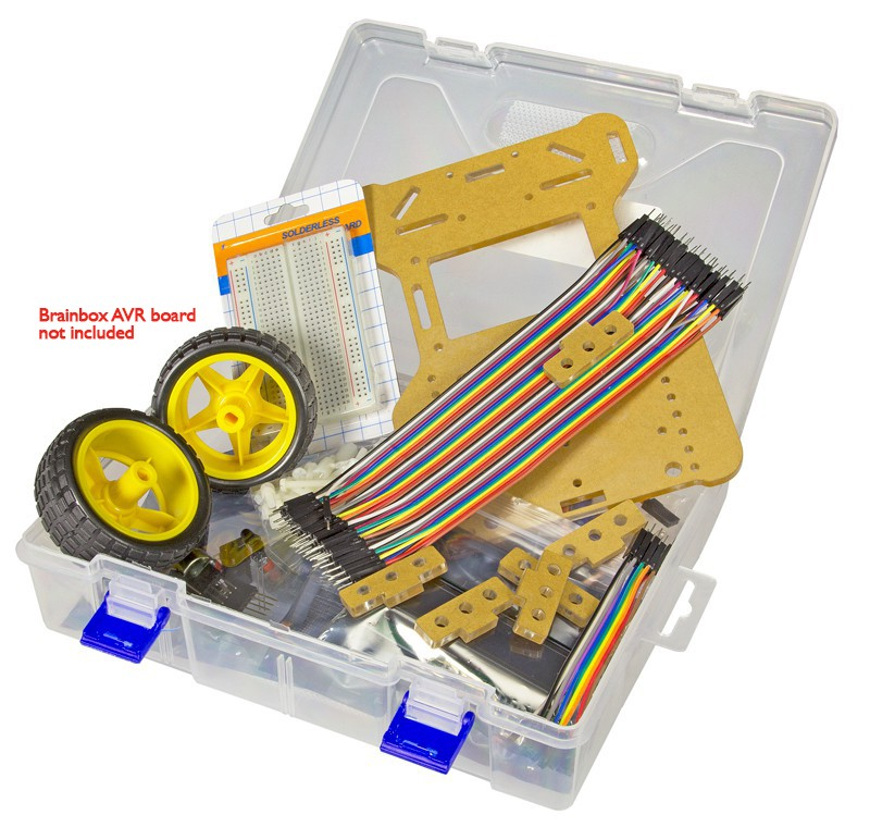 Robot Kit for the BrainBox AVR (160001-71)