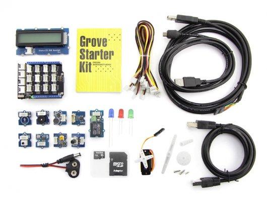 Grove Starter Kit Plus – Intel IoT Edition