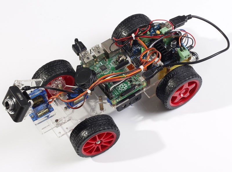 Smart Video Car for Raspberry Pi