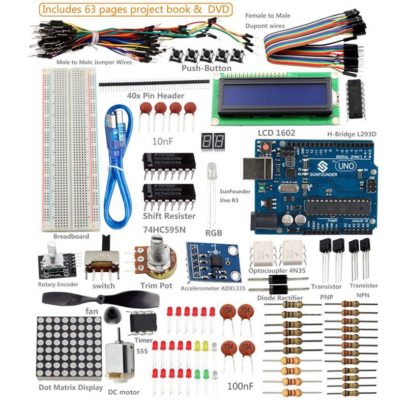SunFounder Super Kit for Arduino