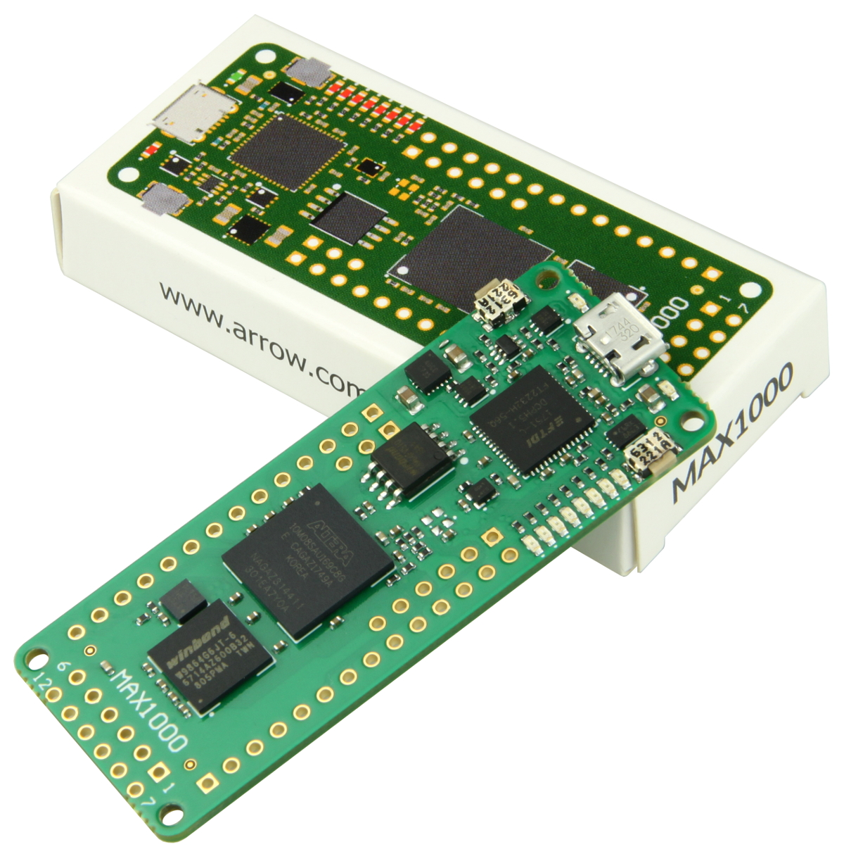 MAX1000 – IoT Maker Board, 8KLE, 8 MB RAM