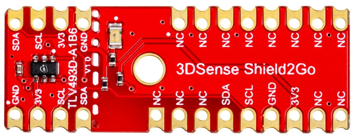 Infineon 3D Magnetic Sensor TLV493D-A1B6
