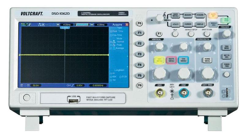 VOLTCRAFT Oscilloscope DSO-1062D