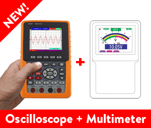 OWON HDS1021M-N 1-ch Oscilloscope + Multimeter (20 MHz)